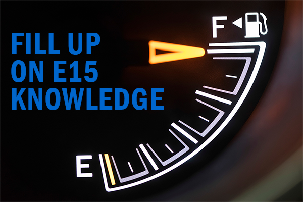 Fill up on E15 Knowledge